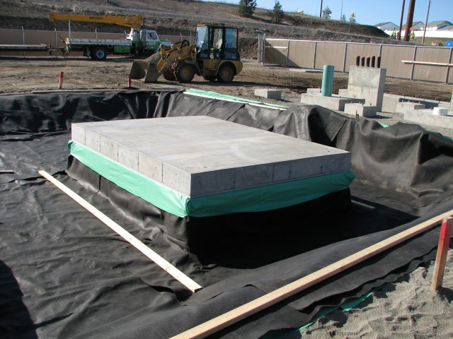 Concrete Containment Systems : Create a low maintenance substation transformer oil